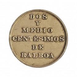 Panama 2,5  Centesimos. 1929. CUNI. 3,3gr. Ø19mm. MBC+/EBC-. (Lev.marquitas). RARO/A. en esta conservacion. KM. 8