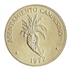 Panama 5  Balboa. 1972. AG. 35gr. Ley:0,900. (FAO). Ø38mm. SC. KM. 30