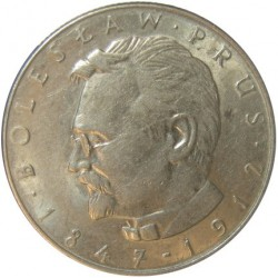 Polonia 10 Zlotych. 1975. MW-(Warsaw). CUNI. 10gr. (Boleslaw Prus). Ø24mm. EBC-. KM. 73