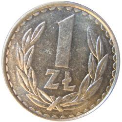 Polonia 1 Zlote. 1982. AL. 2,15gr. Ø25mm. SC-/SC. KM. 49.1