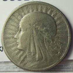 Polonia 2 Zlote. 1932. AG. 4,4gr. Ley:0,750. Ø22mm. MBC-. KM. 20