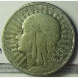 Polonia 2 Zlote. 1934. AG. 4,4gr. Ley:0,750. Ø22mm. MBC-. KM. 20
