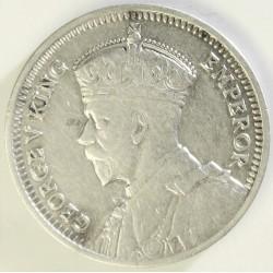 Rhodesia del Sur-(Britanica) 3 Pence. 1932. AG. 1,41gr. Ley:0,925. Ø16mm. EBC-/EBC. KM. 1