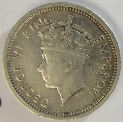 Rhodesia del Sur-(Britanica) 3 Pence. 1937. AG. 1,41gr. Ley:0,925. Ø16mm. EBC-/EBC. KM. 9