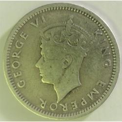 Rhodesia del Sur-(Britanica) 3 Pence. 1940. AG. 1,41gr. Ley:0,925. Ø16mm. MBC-/MBC+. KM. 9