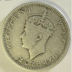 Rhodesia del Sur-(Britanica) 3 Pence. 1941. AG. 1,41gr. Ley:0,925. Ø16mm. MBC-/MBC. KM. 9