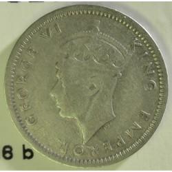 Rhodesia del Sur-(Britanica) 3 Pence. 1946. AG. 1,41gr. Ley:0,500. Ø16mm. MBC-. KM. 16 a