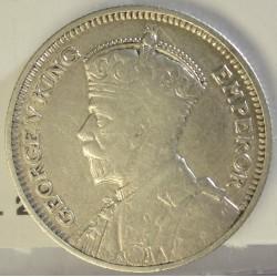 Rhodesia del Sur-(Britanica) 6 Pence. 1932. AG. 2,83gr. Ley:0,925. Ø19mm. MBC/MBC+. KM. 2