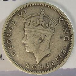 Rhodesia del Sur-(Britanica) 6 Pence. 1939. AG. 2,83gr. Ley:0,925. Ø19mm. MBC-. KM. 17