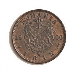 Rumania 1  Bani. 1900. B-(Bucarest). CU. 1gr. Ø15mm. SC-/SC. (Gran parte de su tono original). KM. 26