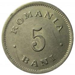 Rumania 5  Bani. 1900. B-(Bucarest). CUNI. 2,9gr. Ø18,5mm. EBC/EBC+. KM. 28