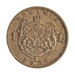 Rumania 1  Leu. 1900. AG. 5gr. Ley:0,835. Ø23mm. MBC+. KM. 24