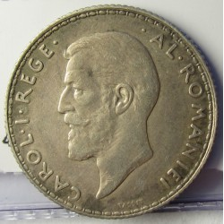 Rumania 1  Leu. 1910. AG. 5gr. Ley:0,835. Ø23mm. MBC+/EBC-. KM. 42