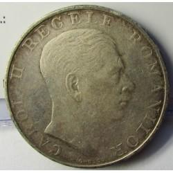 Rumania 250  Leu. 1939. AG. 12gr. Ley:0,835. Ø29mm. MBC/MBC+. KM. 57