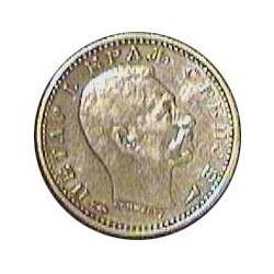 Serbia 50  Para. 1915. AG. 2,5gr. Ley:0,835. Ø18mm. EBC/EBC+. KM. 24.1