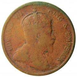 Straits Settlements 1 Cent. 1906. AE. 9,3gr. (Eduardo VII). Ø28mm. MC+/RC-. RARO/A. KM. 19