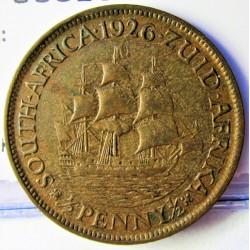 Sudafrica ½ Penny. 1926. CU. 5,7gr. Ø25mm. MBC+. ESCASO/A. KM. 13.1