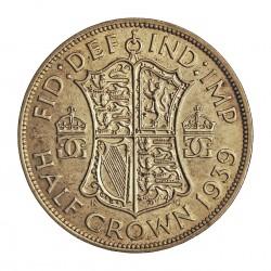 Sudafrica 2,5 Shilling. 1939. AG. 14,14gr. Ley:0,800. Ø32mm. EBC-/EBC. KM. 30