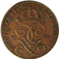 Suecia 5  Ore. 1932. CU. 8gr. Ø27mm. EBC-. KM. 779.2