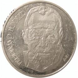 Suiza 5 Francos. 1980. B-(Berna). CUNI. 13,04gr. (F.Hodler). Ø31mm. SC. KM. 59