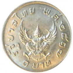 Thailandia 1 Baht. 1974. (BE2517). CUNI. 6,97gr. Ø25mm. SC. KM. 100