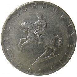 Turquia 5 Lira. 1975. NI. 11gr. Ø32mm. SC. KM. 905