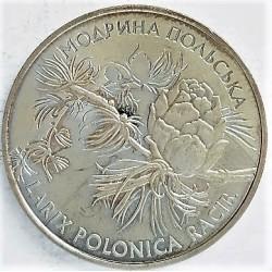 Ukrania 2 Hryunia. 2001. CUNI. 12,8gr. (Larix Polonica)-(Rama de Pino). Ø31mm. SC. RARO/A. Solo 30.000 monedas acuñadas. KM. 1