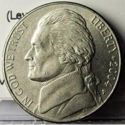 Usa 5 Ctvo. 2004. P-(Filadelfia). CUNI. 5gr. (Lewis y Clark). Ø21,2mm. MBC+. KM. A192