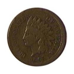 Usa 1 Cent. 1865. Filadelfia. CU. 4,65gr. Ø19mm. MBC-/MBC