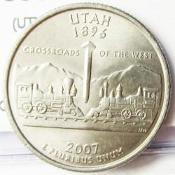 Usa ¼ Dolar. 2007. P-(Fildelfia). CUNI. 5,67gr. (UTHAT). Ø24mm. SC. KM. 398
