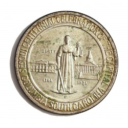 Usa ½ Dolar. 1936. S-(St.Francisco). AG. 12,5gr. Ley:0,900. (Columbia). Ø30mm. SC-/SC. Insig.marquita anv. MUY RARO/A. KM. 178