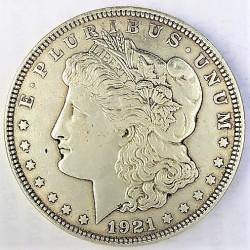Usa 1 Dolar. 1921. Filadelfia. AG. 26,73gr. Ley:0,900. (Tipo Morgan). Ø38mm. EBC/EBC+. KM. 110