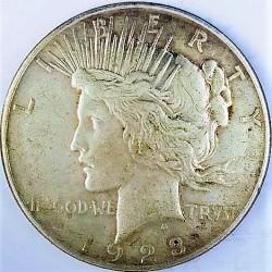 Usa 1 Dolar. 1923. D-(Denver). AG. 26,73gr. Ley:0,900. (Tipo Paz/Peace). Ø38mm. MBC+. KM. 150