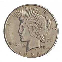 Usa 1 Dolar. 1923. S-(St.Francisco). AG. 26,73gr. Ley:0,900. (Tipo Paz/Peace). Ø38mm. MBC-. KM. 150