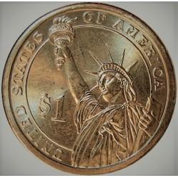 Usa 1 Dolar. 2007. D-(Denver). CU/ZN. 8,02gr. (Serie Presidentes-4º/James Madison-1809/17). Ø26mm. SC