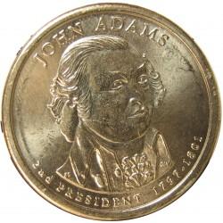 Usa 1 Dolar. 2007. D-(Denver). CU/ZN. 8,02gr. (Serie Presidentes-2º/Jhon Adams-1797/1801). Ø26mm. SC
