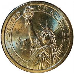 Usa 1 Dolar. 2007. P-(Fildelfia). CU/ZN. 8,02gr. (Serie Presidentes-4º/James Madison-1809/17). Ø26mm. SC
