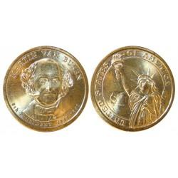 Usa 1 Dolar. 2008. D-(Denver). CU/ZN. 8,02gr. (Serie Presidentes-Martin Van Buren). Ø26mm. SC