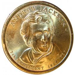 Usa 1 Dolar. 2008. D-(Denver). CU/ZN. 8,02gr. (Serie Presidentes-Andrew Jakson). Ø26mm. SC