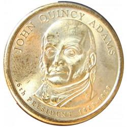 Usa 1 Dolar. 2008. D-(Denver). CU/ZN. 8,02gr. (Serie Presidentes-J.Quincy Adams). Ø26mm. SC