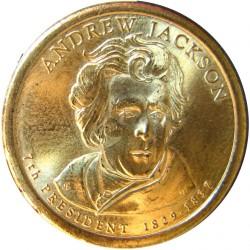 Usa 1 Dolar. 2008. P-(Fildelfia). CU/ZN. 8,02gr. (Serie Presidentes-Andrew Jakson). Ø26mm. SC