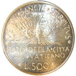 Vaticano 500  Lira. 1978. AG. 11gr. Ø29mm. SC. KM. 140