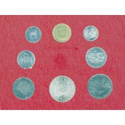 Vaticano Serie. 1973. AG+NI+CU. (Las 500 liras en plata). (Año XI)-(Blister Oficial:8 val.:de 1 a 500 Liras). SC. KM. MS77