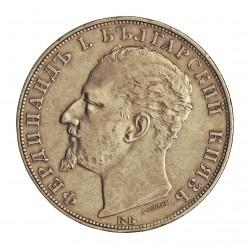Bulgaria 5  Leva. 1894. KB. AG. 25gr. Ley:0,900. Ø37mm. MBC+. ESCASO/A. KM. 18
