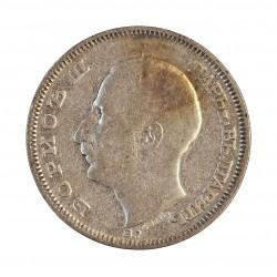 Bulgaria 20  Leva. 1930. BP. AG. 4gr. Ley:0,500. Ø20mm. MBC+. KM. 41