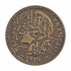 Camerun 2 Francos. 1925. (a)-Paris. AL/AE. 10gr. (Administración Francesa). Ø27mm. EBC-. (Lev.marquitas.Bonita patina). ESCASO/