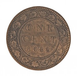Canada 1 Cent. 1882. Heaton. AE. 5,6gr. Ø25mm. MBC-. KM. 7