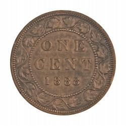Canada 1 Cent. 1888. AE. 5,6gr. Ø25mm. MBC/MBC+. KM. 7