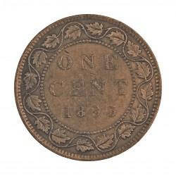 Canada 1 Cent. 1893. AE. 5,6gr. Ø25mm. MBC-. KM. 7