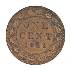 Canada 1 Cent. 1902. AE. 5,6gr. Ø25mm. MBC+/EBC-. KM. 8